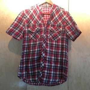 Other - Unlabelled Mens Plaid Shirt.